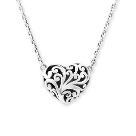 Lois Hill Sterling Silver Reversible Heart at Nordstrom, Retail $198