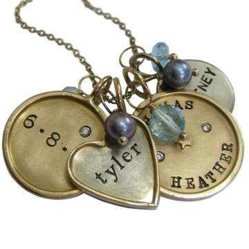 Make Your Mark with Personalized Jewelry: Charm Necklaces