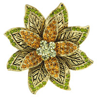 Green Leaf Brooch from Pugster.com, $31.49 Retail