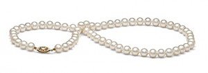 6.0-7.0mm AA Quality Freshwater Pearl 18inch Necklace from PearlParadise.com, $76 Retail