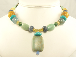 Handmade Gemstone Bead Jewelry from icandijewelry.com