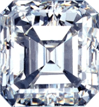 1.50 Ct. Asscher Cut F, VS2 Diamond from Brilliant Earth $11,210 Retail