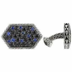 John Hardy Sapphire Cufflinks, $1595 Retail