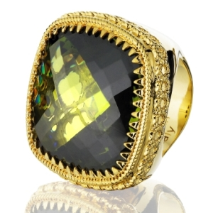 Roma Ring from Rebecca, $620 Retail