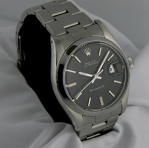 Stainless Steel Rolex, signed Tiffany and Co., from European Watch Co, $2550 Retail