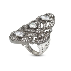 Muna Ring by BCBG Max Azria, $88 Retail