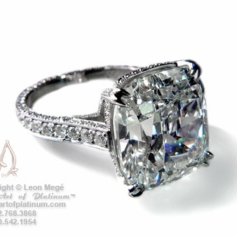 Leon Mege, The Most Beautiful Rings In The World?